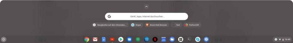 Chrome OS Launcher