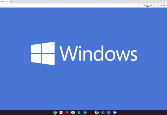 Chrome OS mit Windows Apps