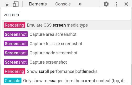 Screenshot einer ganzen Seite erstellen in Chrome OS