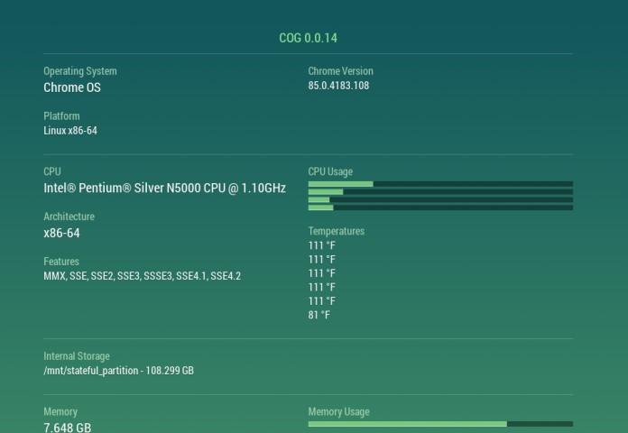 Cog - System Info Viewer