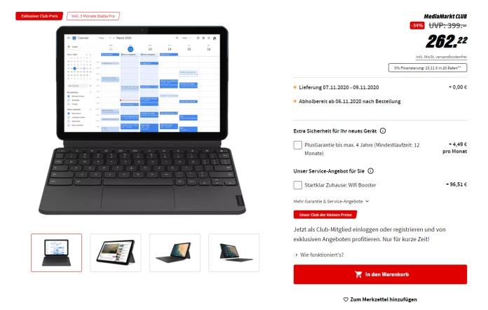 Lenovo IdeaPad Duet Angebot