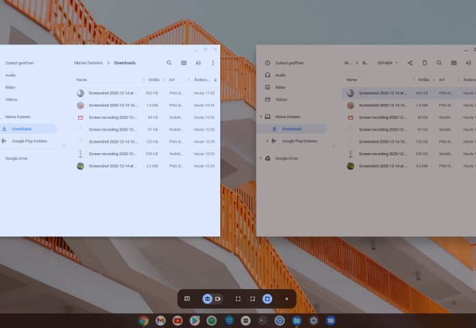 Chrome OS Screen Recorder