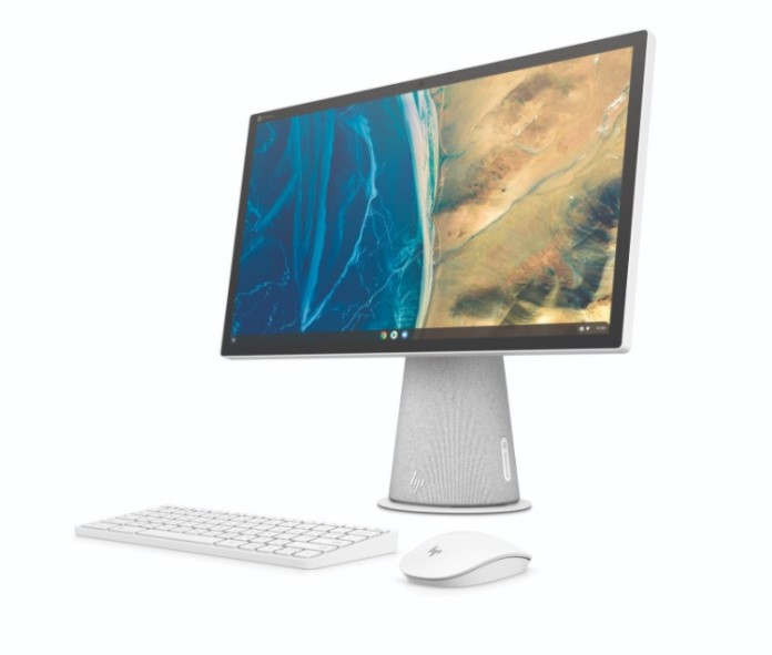 HP Chromebase All-in-One Pivot