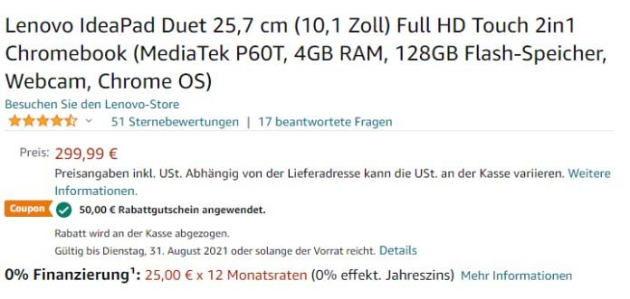 Lenovo IdeaPad Gutschein